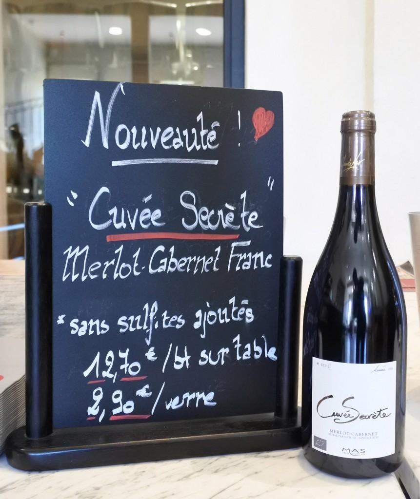vin languedoc cuvee secrete