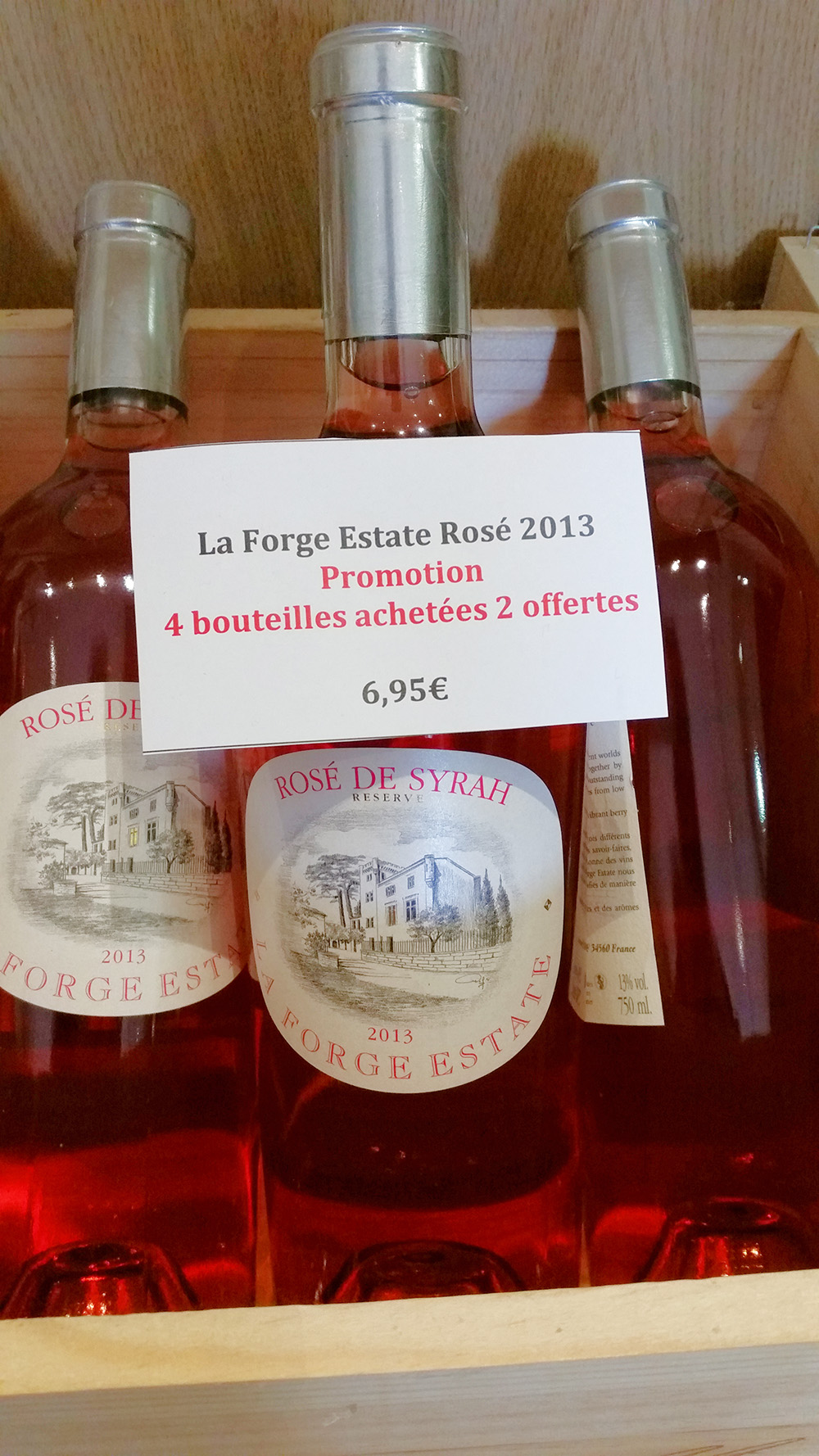 la forge estate vin promotion